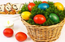 Free Easter Basket Stock Photos - 18589953