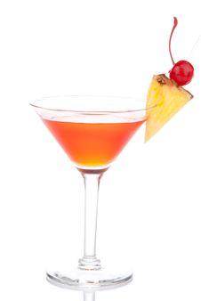 Free Cosmopolitan Martini Cocktail Royalty Free Stock Photo - 18589995