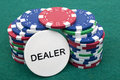 Free Poker Chips Stock Photography - 18596002
