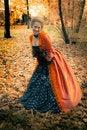 Free Baroque Girl Outdoor Stock Photo - 18599570
