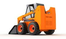 Free Skid Steer Loader Royalty Free Stock Photos - 18591778