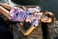 Free Fashion Pose Stock Photography - 18594782