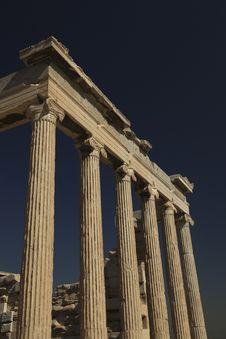 Free Acropolis Athens Royalty Free Stock Photography - 18594857