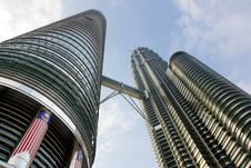 Free Petronas Towers Royalty Free Stock Photos - 18595268