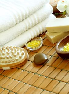 Free Spa Composition Stock Photo - 18596470