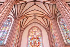 Free Gothic Interior. Stock Photos - 18596753