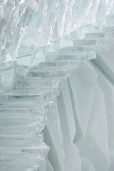 Free Ice Stairs Royalty Free Stock Image - 18596856