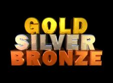 Free Gold-silver-bronze Stock Photo - 18598000
