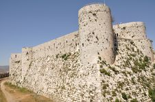 Free Crusader Castle In Syria Stock Images - 18598244