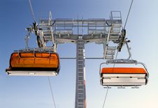 Free Chairlift Royalty Free Stock Photo - 18598705