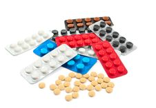Free Pills Royalty Free Stock Images - 18598889