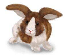 Free Drawn Rabbit Stock Photography - 18599242