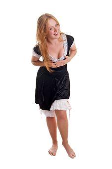 Free Flirty Maid Stock Photo - 18599550