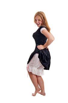 Free Flirty Maid Royalty Free Stock Photos - 18599558