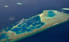 Free Island From The Sky 2 Royalty Free Stock Images - 18599579