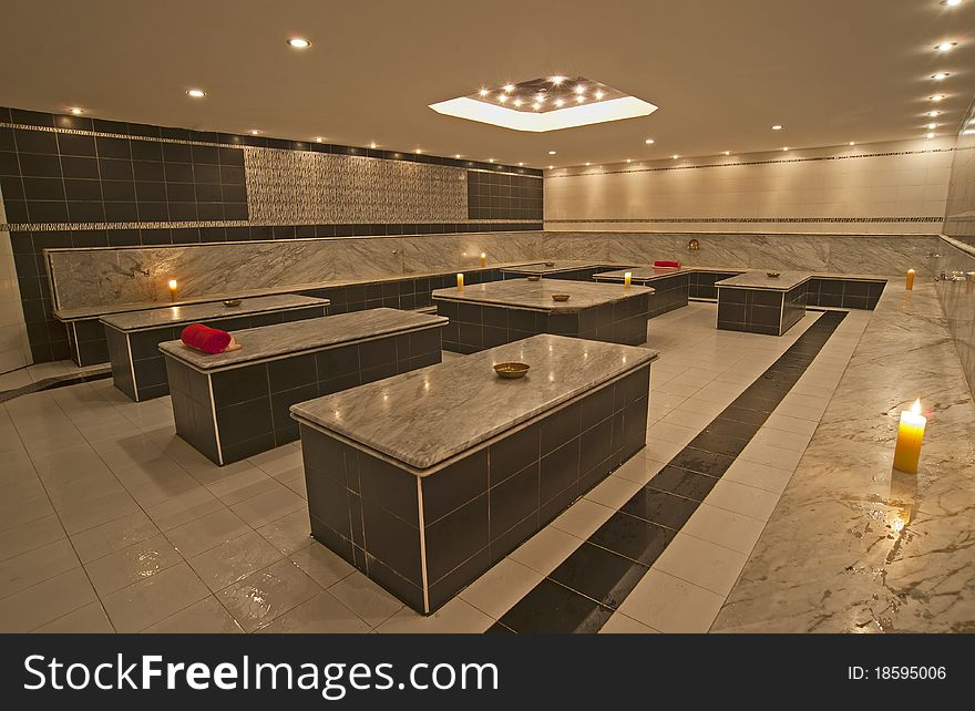 Turkish Bath In A Health Spa - Free Stock Images & Photos - 18595006 ...