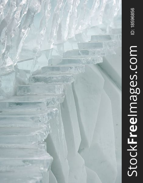 Ice stairs