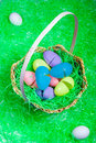 Free Eggs In A Basket Stock Image - 1861101