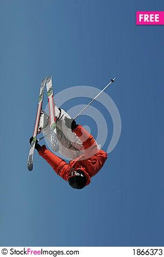 Free Truck Driver Invert Skier Stock Photos - 1866373