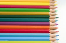Free Colorful Pencils Royalty Free Stock Image - 1860306