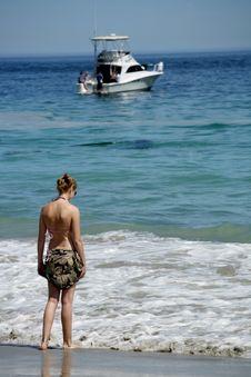 Free Boat Woman Stock Photo - 1861500