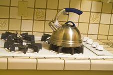 Free Teakettle On Stove Stock Images - 1864794
