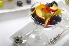 Free Fruit Parfait Horz. Stock Image - 1865541