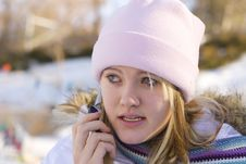Free Winter Girl Stock Photography - 1865652