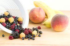 Fresh Fruit And Berries Stock Image
