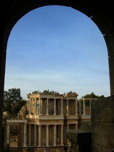 Free Ruins Of Mérida Royalty Free Stock Images - 1865889