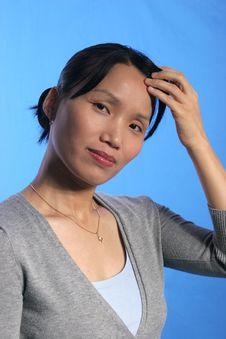 Free Pretty Asian Woman 1. Royalty Free Stock Photo - 1866445