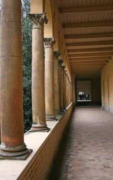 Free Interior Columns From A Church In Potsdam Royalty Free Stock Images - 1867349