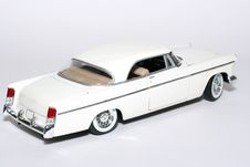 Free 1956 Chrysler 300B Metal Scale Toy Car 2 Royalty Free Stock Photography - 1867387