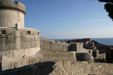 Free Dubrovnik Fortifications Stock Images - 1869304