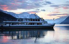 Free Evening Swiss Lake Travel Stock Photo - 1869990