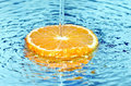 Free Orange In Water Splash Royalty Free Stock Image - 18600286