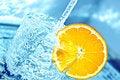 Free Orange In Water Splash Royalty Free Stock Photo - 18600375