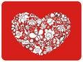 Free Sketch Heart Royalty Free Stock Photo - 18601155