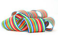 Free Colorful Striped Ribbons Stock Image - 18603011