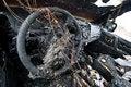 Free Burned Car Stock Image - 18609451