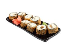 Free Japanese Warm Roll With Smoked Eel Stock Image - 18600001