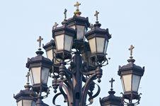 Free Street Lamp Near The Church Stock Photos - 18600273