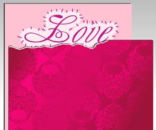 Free Paper And Pink Paper Cover Royalty Free Stock Photos - 18601188