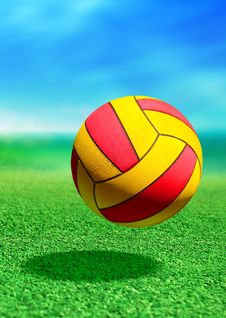 Multicolored Ball Royalty Free Stock Images