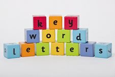 Free Letters Are The Key To The World Of Knowledge Stock Photos - 18601873