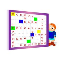 Free Scrabble, Cdr Vector Royalty Free Stock Photo - 18601965