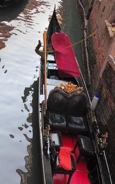 Free Gondola Detail Royalty Free Stock Photo - 18602035