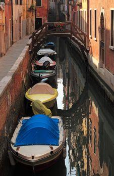 Free Venetian Canal Stock Image - 18602111