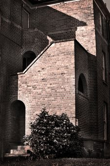 Free Vintage Brick Building Royalty Free Stock Images - 18602229
