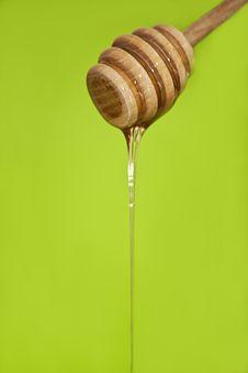 Free Wood Honey Spoon Royalty Free Stock Photos - 18602368
